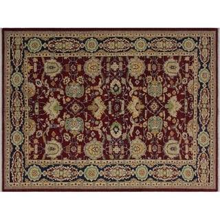 "Ziegler Kafkaz Meda Red/Blue Wool Rug -6'1 x 8'11 - 6'1"" x 8'11"""