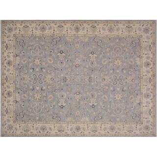"""Ziegler Kafkaz Sousa Grey/Ivory Wool Rug -10'1 x 13'7 - 10'1"""" x 13'7"""""""