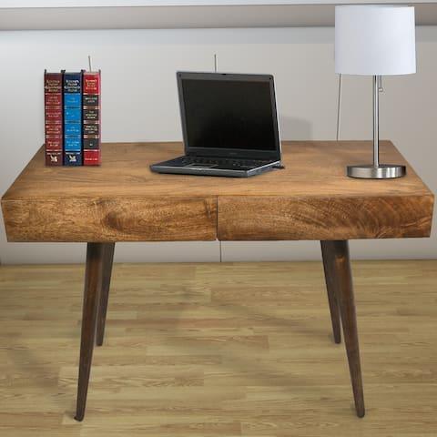 Carbon Loft Jenji Mango Wood Writing Desk