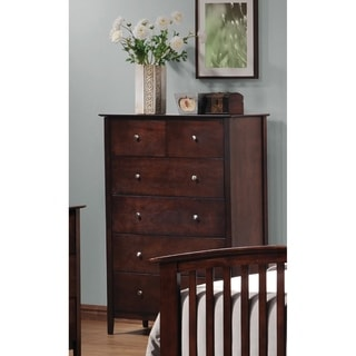 Omara Cappuccino 5-drawer Chest