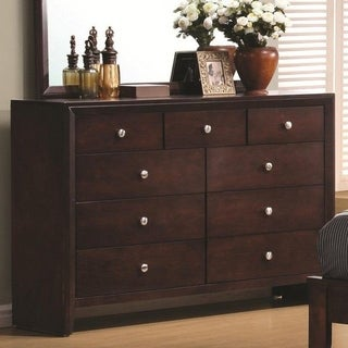 Eugenia Rich Merlot 9-drawer Dresser