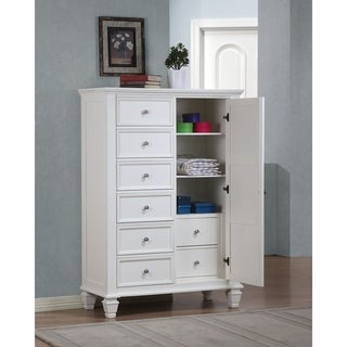 Copper Grove Vallauris Coastal Chest with Concealed Storage