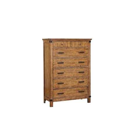 Lorelai Rustic Honey 7-drawer Chest