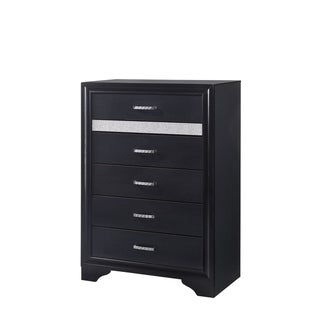 Ava Contemporary 5-drawer Chest with Hidden Jewelry Tray