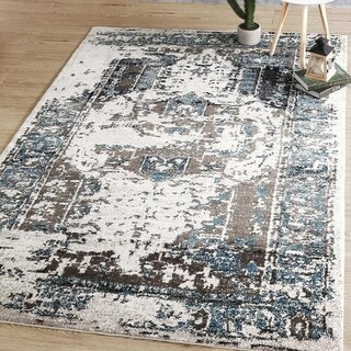 Abstract Area Rug - 8' x 10'