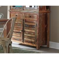 Prairie Multicolored Wood Server