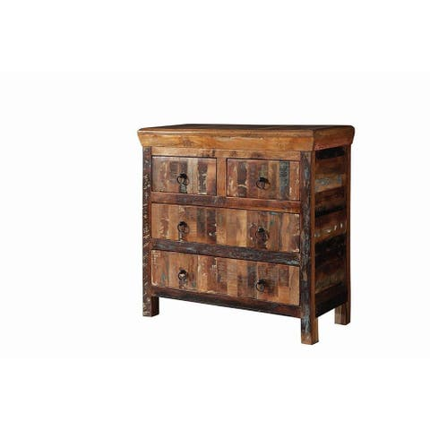 Lynden Reclaimed Wood Accent Cabinet