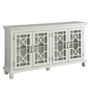 Peoria Traditional Wood Accent Cabinet