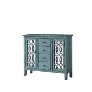 Avignon Blue Accent Cabinet