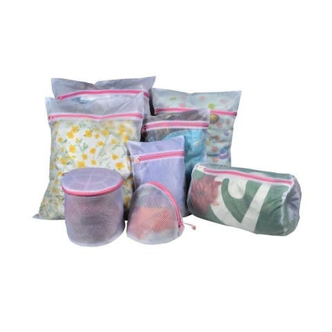 Offex Polyester Mesh Zipper Laundry Bags for Delicates