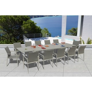 Grand Bank Ash Grey 13-piece Dining Set by Havenside Home