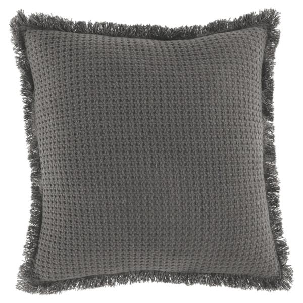 Ruysser Grey Throw Pillow
