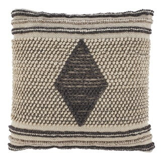 Ricker Woven Diamond Boho Throw Pillow