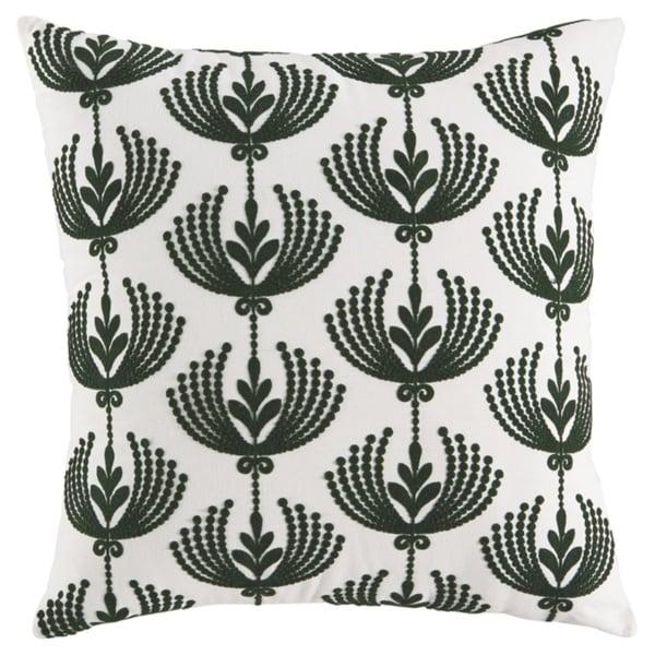 Dowden Cream Floral Pillow
