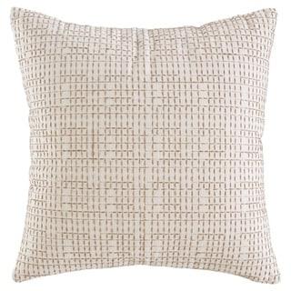 Arcus Cream Geometric Design Pillow