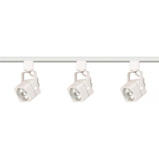 Link to 3-Light Track Kit Sq Line Volt Wh Similar Items in Track Lighting