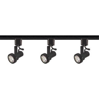 3-Light Track Kit Gmbal Rng MR16 Blk