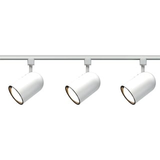 Link to White R30 Bullet Cyl Track Kit Similar Items in Track Lighting