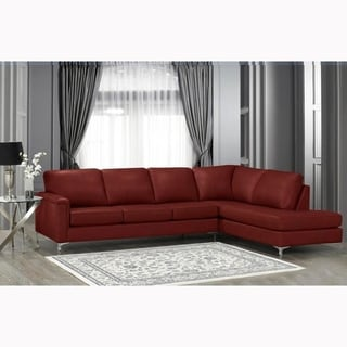Awesome Buy Leather Sectional Sofas Online At Overstock Our Best Machost Co Dining Chair Design Ideas Machostcouk