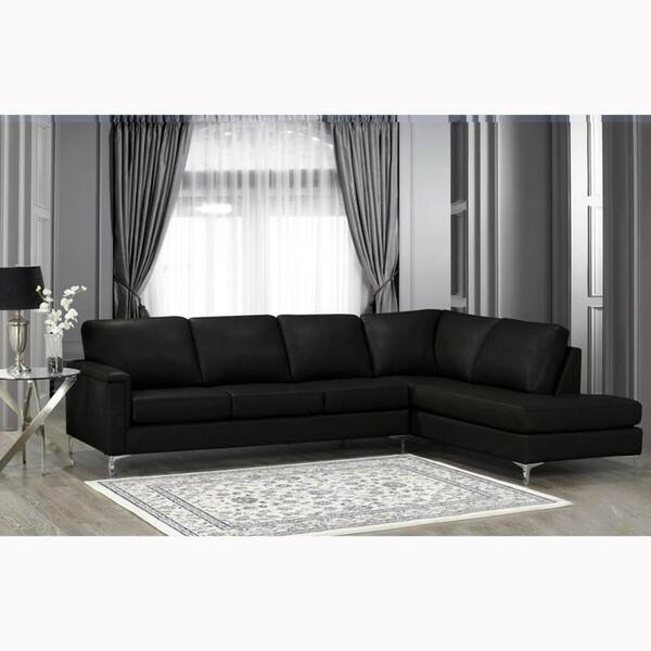 Fabulous Shop Malibu Premium Top Grain Italian Leather Sectional Sofa Dailytribune Chair Design For Home Dailytribuneorg