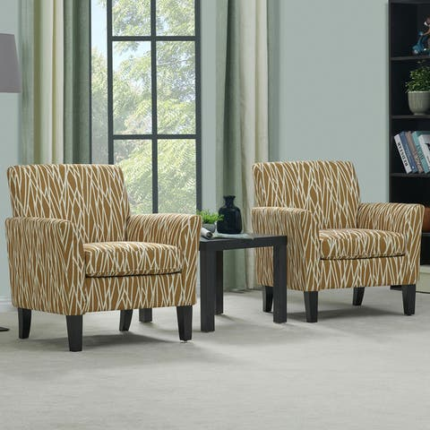 Copper Grove Fastiv Flared Arm Chairs (Set of 2)