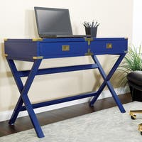 OSP Home Furnishings Wellington 42-inch Desk with Power