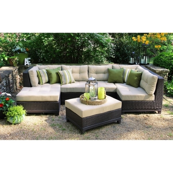 Shop Hillborough 4 Piece Wicker Sectional By Ace Evert Inc