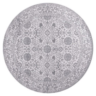 GAD MARIGOLD Collection Tabriz Chic Classic/Transional Gray Area Rug - 7'R