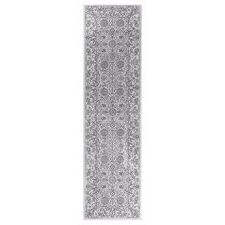 "GAD MARIGOLD Collection Tabriz Chic Classic/Transional Gray Area Rug - 2'2"" X 7'10"""