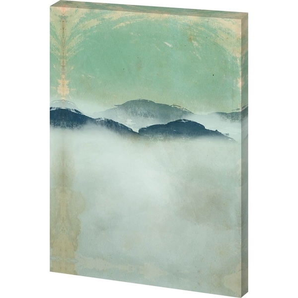 Mercana Foggy Paper Landscape B 30-inch x 44-inch Made to Order Canvas Art