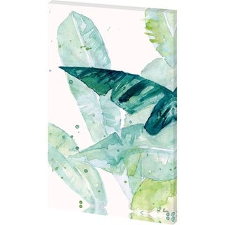 Mercana 'Water Color Palms II' Made to Order Canvas Art