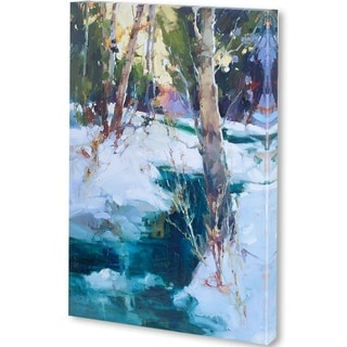 Mercana Last Snow Sierras (44 X 55) Made to Order Canvas Art