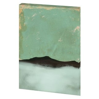 Mercana 'Foggy Paper Landscape' Made to Order Canvas Art