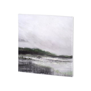 Mercana 'Edge of Bay ALT V3' Made to Order Canvas Art - 30 x 30