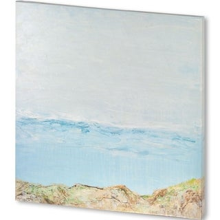 Mercana Coastal View 5 41-inch x 41-inch) Made to Order Canvas Art