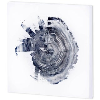 Mercana 'Tree Ring Abstract 2' Made to Order Canvas Art (41 x 41)