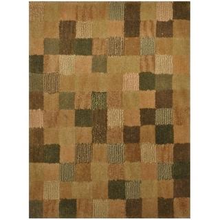 Handmade One-of-a-Kind Tibetan Wool Rug (India) - 2' x 2'7