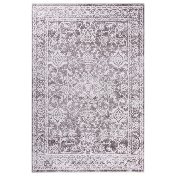 GAD Eden Grey Transitional Design Modern Look Area Rug - 7'10 x 10'2