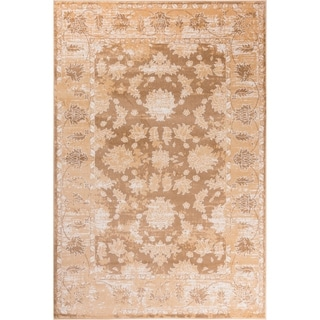 """GAD Magnolia Beige Transitional Design Area Rug with Stylish  Look. - 2'2"""" X 7'10"""""""