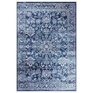 GAD Eden Blue Transitional Design Area Rug with Modern Stylish  Look. - 7'R