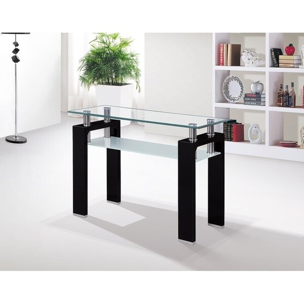 Shop Duet Glass-top Sofa Table