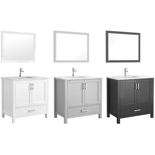 "Amaya 36"" Single Sink Bathroom Vanity Set"