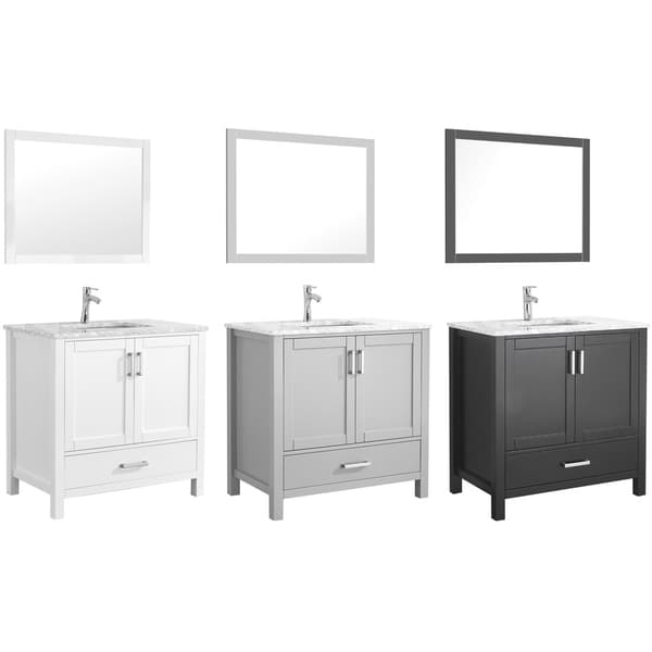 Amaya 36 Single Sink Bathroom Vanity Set Overstock 27875699