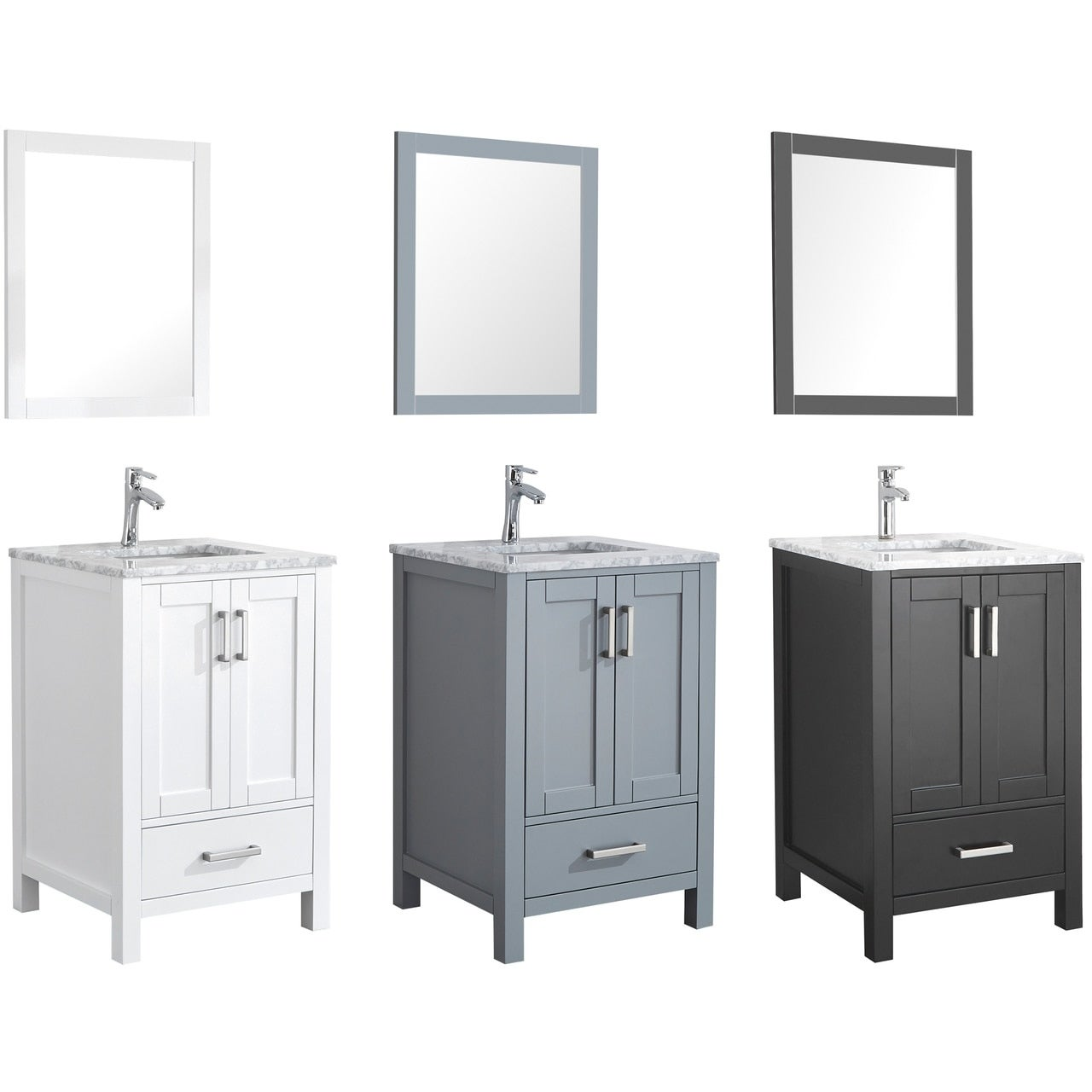 Single Sink Bathroom Vanity Set