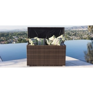 Direct Wicker Modena Outdoor Rattan Garden Cushion Storage Box - N/A
