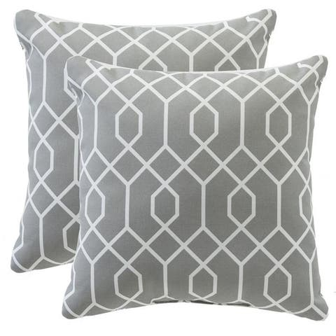 Patterned Outdoor Pillow (Set of 2) - 16*16