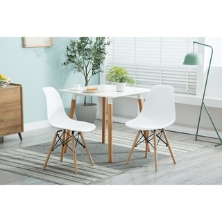 Link to Porthos Home Cade Modern Dining Chairs , Beech Wood & Polypropylene (PP) Similar Items in Dining Room & Bar Furniture