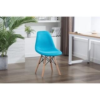 Porthos Home Haig Modern Dining Chairs, Fabric & Beech Wood