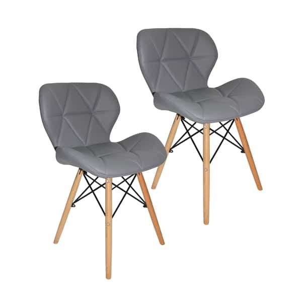 Incredible Shop Porthos Home Jael Modern Dining Chairs Set Of 2 Pu Machost Co Dining Chair Design Ideas Machostcouk