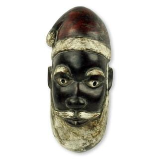 Handmade Unique Santa Claus Mask (Ghana)